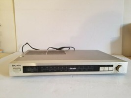 AUTHENTIC SONY ST-JX2 FM STEREO/FM-AM TUNER.FOR PARTS.BROKEN.SOLD AS IS. - $23.36