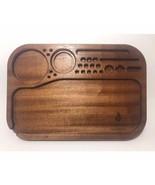 King Size Rolling Tray (Genuine Mahogany) - $119.95