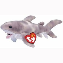 Finn The Great White Shark Retired Ty Beanie Baby Mint Condition with Tags - $28.66