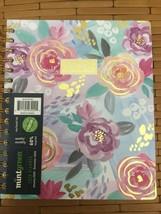 Mintgreen 2020 Planner Monthly Agenda Floral 9 x 7.5 - $19.79