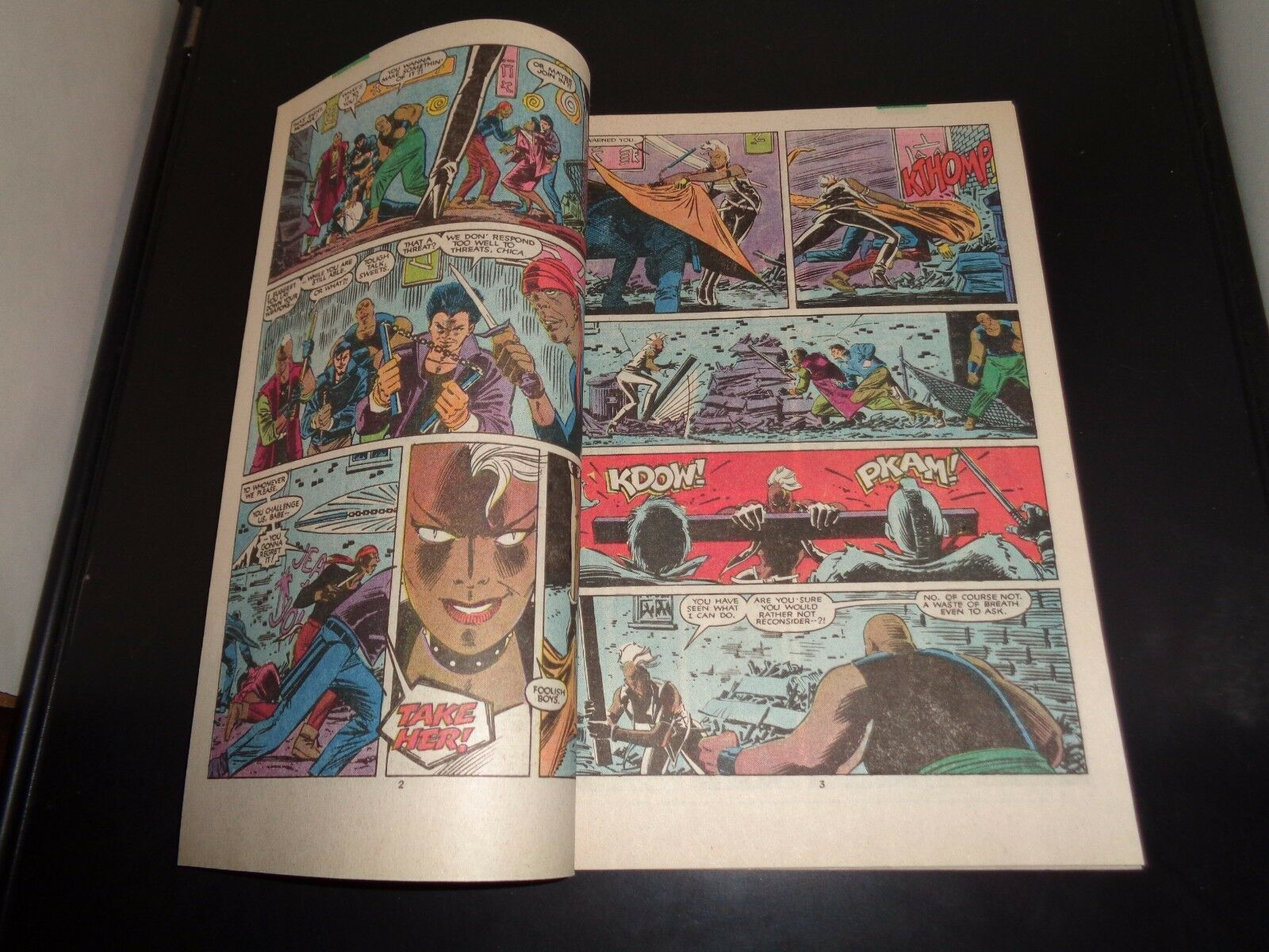 Uncanny X-MEN #206 1986 Marvel Comic Book NM (9.0) Condition FREEDOM FORCE