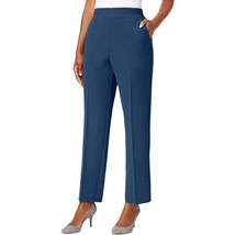 NWT Alfred Dunner 16W or 16P Arizona Sky Classic Fit Lapis Dress Pants - $16.19