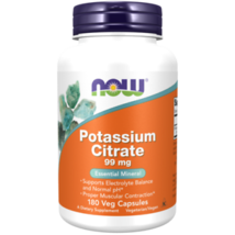 NOW Foods Potassium Citrate 99mg 180 Capsules - $12.85