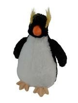 "Macaroni Aurora 10"" Penguin Plush Toy Stuffed Bean Bag Butt Animal - $9.89"