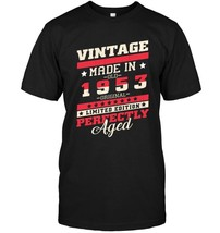 Vintage made in 1953 65 yrs old Bday 40th Birthday Gift Tee - $17.99+