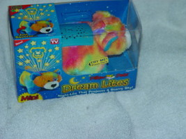 Mini Dream Lites Night -Lite That Projects A Starry Sky Peaceful Bear - $8.00