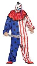 Fun World Böser Clown Maske Erwachsene Herren Halloween Kostüm Übergröße... - $40.99
