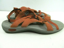 Keen Womens Orange Strappy Ankle Strap Sandals Size US 7.5  EUR 38 image 2