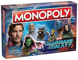 Guardians of the Galaxy Vol. 2 Monopoly - $36.39