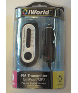 iWorld Wireless FM Transmitter For iPod/MP3 Players FM-3000 - $10.51