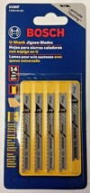 "Bosch U1BIF 3"" x 14 TPI Bi-Metal U-Shank Jigsaw Blades For Laminate Floo... - $3.71"