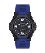 Dunlop Men´s DUN240G03 Macho Black/Blue Stainless Steel Watch - $38.64