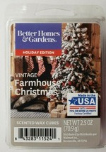 Better Homes & Gardens Vintage Farmhouse Christmas Wax Cubes 2.5 oz - $5.93