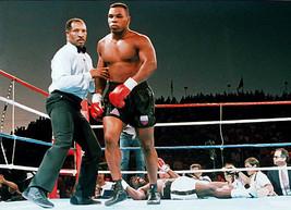 Richard Steele & Mike Tyson 8X10 Photo Boxing Picture Ko - $3.95