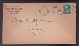 ADOLPH KEITEL NEW YORK NY 1912 - $2.98