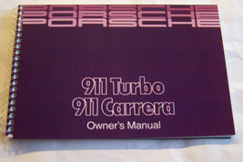 1989 Porsche 911 Carrera Owners Manual Parts Service 911 Turbo factory r... - $93.05