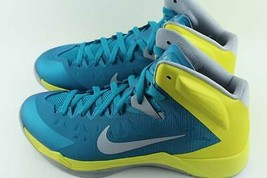 NIKE LUNAR HYPERQUICKNESS TEAL MEN Size: 11.0 NEW BASKETBALL AUTHENTIC RARE - $94.04
