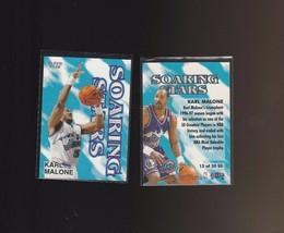 1997-98 Fleer Soaring Stars #13SS Karl Malone Utah Jazz - $1.00