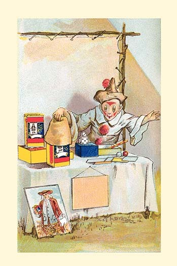 Primary image for Magic Trick by Frolie - Art Print