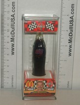 "Coke Coca-Cola McDonald's Mini Miniature 3.5"" Soda Bottle Dale Jarrett #88 1999 image 1"
