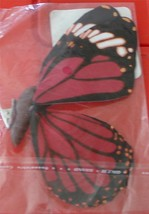 Pretty Springtime Bug Butterfly Clip, for Crafts BRAND NEW IN PACKAGE - $3.95