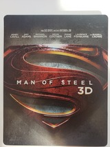 Man of Steel Limited Edition Steelbook UK Import 3D + Blu-ray image 1