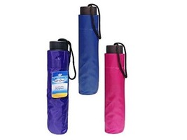 Folding Compact Umbrella with Storage Sleeve - $23.95