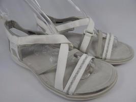 Keen Maya Strap Women's Sports Sandals Size US 7 M (B) EU 37.5 Star White Silver