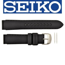 Genuine Seiko SKH301, SKH311, SKH267, SKH305 18mm Watch Band Strap Black... - $44.95
