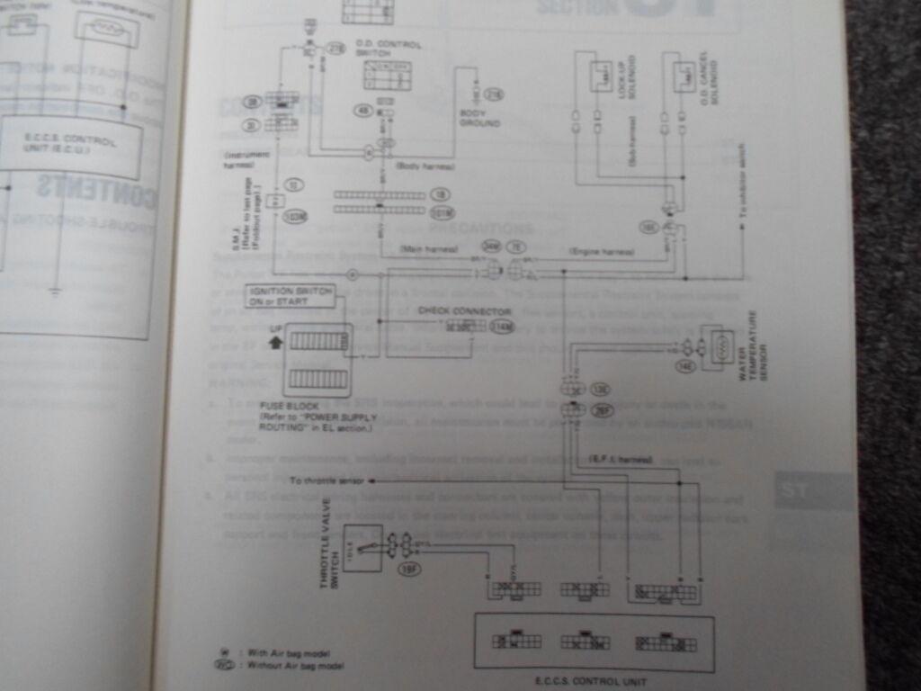 1989 Nissan Pulsar NX Service Repair Shop Manual Supplement FACTORY FEO BOOK 89