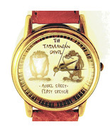 Taz, Tasmanian Devil First Sketch Model Sheet Fossil Watch Unworn LTD X/... - $87.96