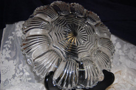 VINTAGE ANCHOR HOCKING FIRE KING DEVILED EGG DISH GLASS PLATER - £9.00 GBP