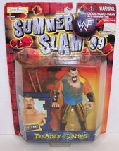 "New! 1999 Jakk's Pacific Summer Slam ""Kurgann"" Action Figure WWF WWE [873] - $18.80"