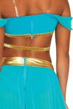 Women's Oasis Arabian Princess Deluxe Costume image 4