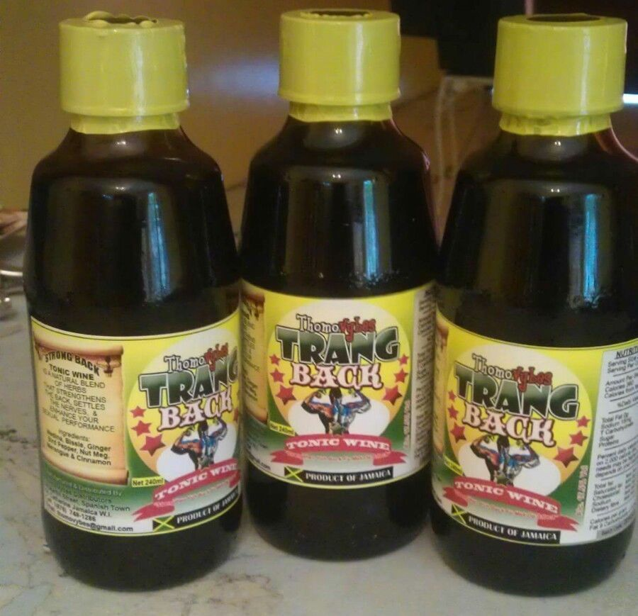 Primary image for Trang back tonic wine × 3 bottles