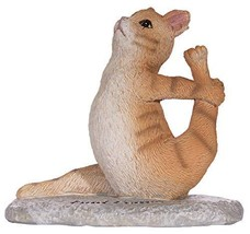 Gnz Cute and Funny Yoga Lovers Yoga Cat Polystone Figurine in Choice of ... - €18,16 EUR
