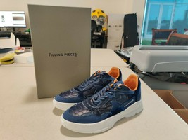 Filling Pieces Low Fade Cosmo Mix Python - Navy Blue - Eur Size 41 - $99.88