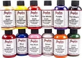 Angelus 4oz Acrylic Paint 12pk - $55.37