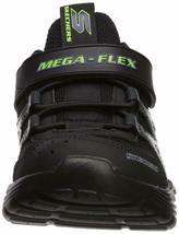 Skechers Kids Boys' MEGA-Volt Sneaker, Black/Purple, 13.5 Medium US Little Kid image 4
