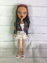 MGA Bratz Funk Out Yasmin Doll With Outfit Jean Jacket and Dress Shoes 2001 - $49.49