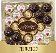 1 Box Brand New FERRERO Collection 24 pcs assortment 9.1 OZ