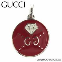 Gucci Pendant Ybg45804800100U Reversible Silver Logo Necklace Women 'S F/S - $340.95