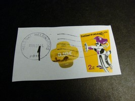 1 Moomin Used 2011 Finland Stamp with 19 June 2014 postmark - $5.90