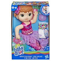 Baby Alive Shimmer 'n Splash Mermaid (Red Hair) Officially Licensed NIB/Sealed - $34.99