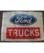 ford trucks flag Used Mint Ford Trucks Flag 28 x 42 Free Shipping USA - $27.95