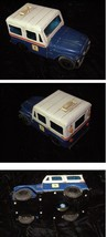 U.S. Mail Truck USPS Tin Toy Truck Bank Mail Delivery Truck Western Stam... - $39.99