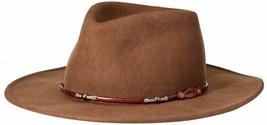 Stetson Mens Wildwood Crushable Hat X-Large / 7 1/2-7 5/8 Acorn - $129.99