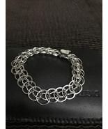 Sterling Silver charm bracelet  - $33.00