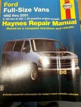 Repair Manual 36094 Haynes - Ford Full Size Vans 1992-2005 - $35.99