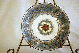 "Wedgwood 1931 Florentine Turquoise Bread Plate 6"" #2417 Older Backstamp Dragons - $10.39"